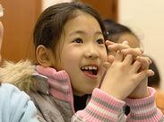 子供はいつだって明るく元気!たまには笑顔を分けてもらうことも!