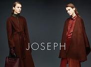 世界各国にショップを構え、優れた品質と時代性を高く評価されてきた「JOSEPH」!上品で都会的な装いにはファンがたくさん◎