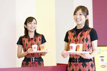 【カフェスタッフ】◎゚+o 楽しい × カンタン ×16時~:時給1100円 +o○◎地域最大級のキレイなパチンコ屋さんでワゴンサービス!