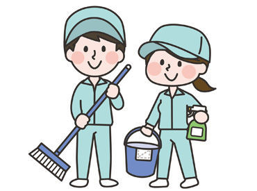 【建物内清掃スタッフ】◆ 1日たったの3.5hのお仕事です ◆短時間ワークで9万円以上も可能!!一人で進めるお仕事なので、自分のペースで働けますよ◎