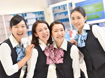 【受付Staff】まずは笑顔で「いらっしゃいませ」から♪ボーナス年2回支給!!【1回の平均12万円☆】〔9:30~22:00〕の間で1日3h~OK◎
