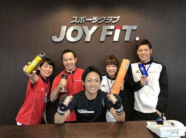 【スポーツクラブStaff】今年3月にオープンしたて*JOYFIT北長野施設の利用無料!&週2日~OK!<夏目前★>働きながら美BODYも手に入れちゃおう!