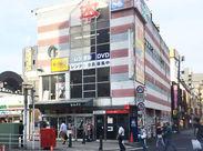 船橋駅から徒歩1分!短時間勤務もOKなので、まずは学校帰りや家事の合間など短時間~チャレンジしましょう♪