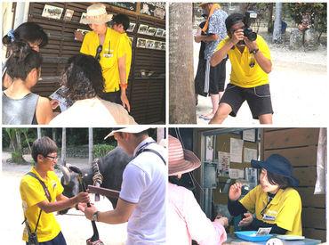 カメラの撮影技術と接客技術が身につきます!もちろんイチからシッカリお教えするのでご安心くださいね◎