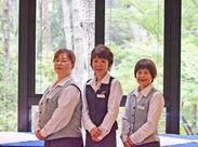 扶養内勤務も、ガッツリ働くのもOK! 未経験からのスタートの方も多数◎ 仕事もゴルフも楽しめる環境です♪
