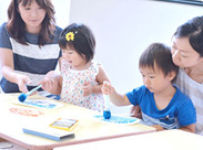 学研独自のカリキュラム・教材で指導します。「楽しく、遊びながら学ぶ」スタイルで、楽しく学ぶことができます♪