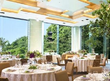 【ホテルSTAFF】世界・日本で人気のホテル椿山荘★未経験STARTのスタッフ多数!!華やかな環境で、効率よく楽しく稼げます♪<月収26万円超えも>