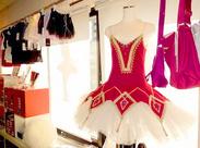 オシャレで可愛いバレエ用品を取り揃えています♪店舗そばの事務所内での勤務となります。