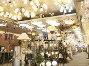 インテリア好きにはたまらない!?オシャレな照明器具がたくさん♪レアな商品に出会えるかも…?