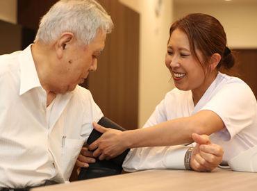 一人ひとりの利用者さんときちんと向き合いながら関係を築けます◎丁寧で温かい介護のお仕事ができますよ!