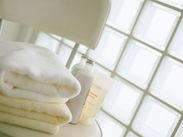 客室清掃なので作業は簡単◎普段の家事感覚でオシゴトできるので負担も少なめです♪