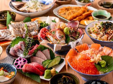 お店の自慢はコチラ!! その日に獲れた新鮮なお魚をリーズナブルな価格でご提供しています!