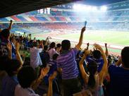 《スポーツグッズ販売staff募集!》スポーツ好き、サッカーファン必見◆趣味に関わる仕事をしよう◎