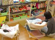じっくり乳幼児に関われる、やりがいのあるお仕事☆子供の笑顔が大好きな方をお待ちしています!