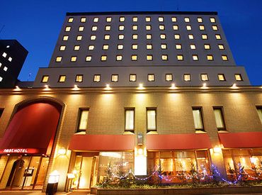 【フロントSTAFF】・゚*.。オシャレなホテルで勤務.。.:*・゚月給18万円以上の収入が叶う♪夕方~翌朝⇒2日間の通しシフトで集中勤務
