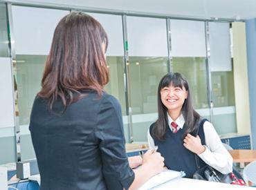 「こんにちは~!」と元気な子どもたちに笑顔をもらえる! 働きながら明るくなれる、珍しい事務ワークです♪