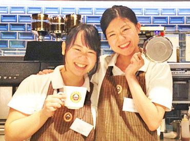 【サンマルクカフェstaff】春は楽しくオシャレに♪。+*カフェでもありベーカリーでもあるお店!初心者さんでも始めやすい丁寧なレクチャーしてます★