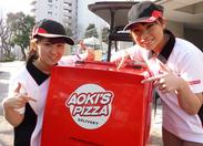 美味しい「ピザ」と「ワクワク」をお客様にお届け★ みんなの笑顔を見るとこっちまで嬉しくなっちゃいます*