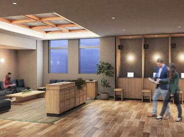 \オープニング&大量募集中!!/ 7月27日オープン♪ 新しい綺麗なホテルで始めるチャンス★ みんな同時スタートだから安心!