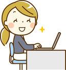 事務のお仕事はシンプルながら重要! ミスのないよう、作業中にも後にもしっかりチェック! ※画像はイメージです。
