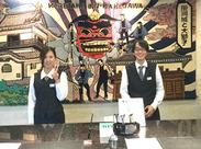 未経験の方、大歓迎! ホテル業界では珍しい自動更新なので、 今働いているスタッフもほとんど社員で安心♪