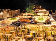 パーティー・宴会の料理を厨房から配膳室へ! お客さんの前に出ないオシゴトだから、接客も一切ありません★