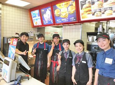 【マッククルー】ゆっくり1つずつ覚えようッ(ノ`・∀・)ノハンバーガーを作ったり、ご注文を聞いたり…♪<<30%OFFの従業員割引あり★>>