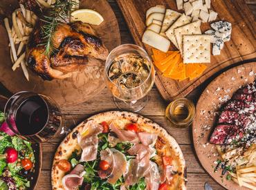 【キッチンStaff】★中世ヨーロッパの街角イタリアンがモチーフ★週1日~OK◎美味しいまかない付♪昼or夜だけでも大丈夫!STAFF仲良し♪