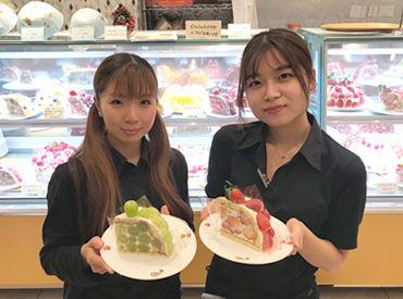 ≪SNS映え◎×絶品フルーツ≫ かわいい見た目に、美味しいケーキetc. スタッフだけの特典!お得な社割あり♪