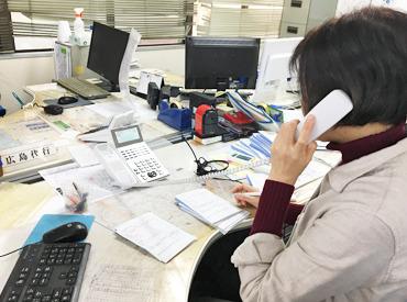 【電話受付オペレーター】\安心バイトスタート/電話を取って  ∇行き先やお迎え先を聞いて  ∇ドライバーに送信!!