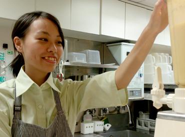 【店舗スタッフ】*信濃町駅ナカに「ハニーズバー」がOPEN*フレッシュな野菜・果物・はちみつやヨーグルトを使ったジュースが大人気♪♪