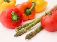 大手スーパーなどに、新鮮なお野菜・果物を届けている会社です。現在60名ほどのアルバイト・パートさんが活躍中です♪