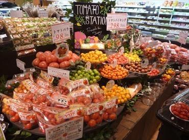 【店舗スタッフ】地域密着スーパーマーケット売上アップに伴い急募!新規スタッフ大募集♪