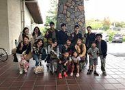 年2回の社員旅行☆☆ 家族も一緒にみんなでワイワイと楽しい時間です!!