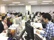 アルバイトで大手ゲームメーカーとお仕事ができる♪やりがいのあるお仕事で、成長できる職場ですよ★