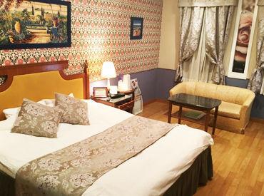 ホテルのお部屋をキレイにしませんか?? 未経験&初バイトの方も大歓迎です♪