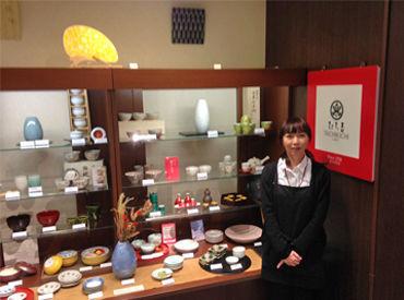 【食器・雑貨販売STAFF】 たち吉がセレクトしたかわいい和雑貨や陶磁器で世界各国のお客様をおもてなし♪