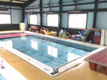 <1日1レッスン>から始められます♪ 子どもたちの喜ぶ姿もやりがいの一つ 「先生みてみて!泳げたよ!」 そんな笑顔にほっこり◎