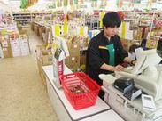 業務スーパーでオシゴト! お任せするお仕事は、レジ業務が中心◎