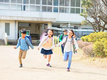 子供たちが快適に学校生活を送れるように、 サポートするお仕事です◎ 未経験OK!シニアも歓迎* ※画像はイメージ