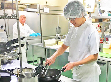 【調理Staff】施設内『大人気』のお食事処でほのか自慢の味をご提供しませんか??1日がんばった後はゆっくりと温泉を利用してくださいね♪