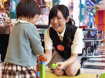 【ゲームセンターStaff】\笑顔はじけるゲームセンター(^▽^)/みんなで景品セット・アナウンスetc.ワクワク♪週2日~<高時給1000円以上>が嬉しい!