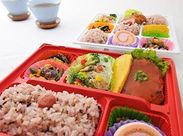 美味しいお弁当をお届け◎決まった企業への配達がメインです♪主婦~シニアさんが多数活躍中!