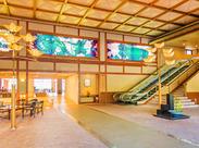 琵琶湖を一望できるとロケーション抜群の人気旅館★3ヶ月程度の短期もOKなので、働きやすさもバッチリですよ◎