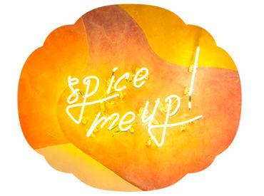 spice me up!がテーマのtake CURRYは スパイスでお客様を笑顔にします♪