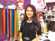 女性の「キレイ」の味方♪最新のヘアケアグッズの販売♪お客様を輝かせる、やりがい満点のお仕事です!