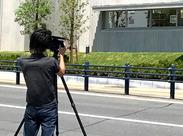 セッティングから片付け・画像加工などの、カメラや写真に関するスキル全般が身につくお仕事です◎未経験スタートも大歓迎★