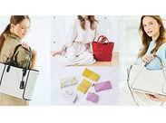 『販売に興味がある』、『バッグが好き』etc...始める理由はコレでOK★販売経験者も大歓迎!