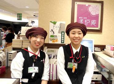 経験や知識は必要ありません◎ 日本全国、海外からのお客様も多数の当店で あなたらしい笑顔で接客を♪