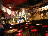 海外のクラフトビールをはじめ多数ご用意♪お酒が好き!という方にもピッタリ★珍しいお酒のテイスティングも出来る◎